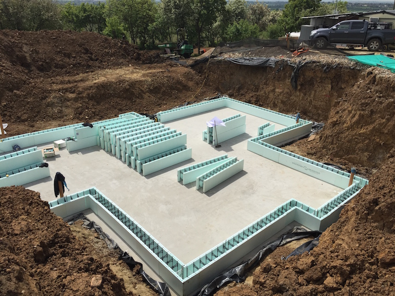Essex Raft foundation and ICF basement