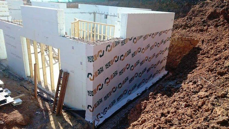 Essex ICF basement and superstructure